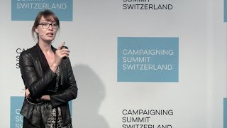 Campaigning Summit Switzerland 2016 – Paula Peters