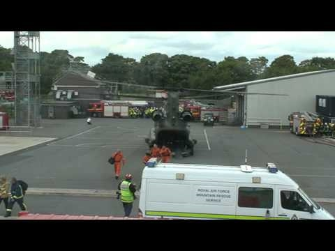 EXERCISE: Chinook Helicopter Drop Off