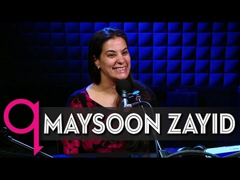 Comedian Maysoon Zayid doesn't aim to inspire you - YouTube