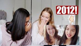 2012 VS. 2018! Reaktion auf unser früheres Ich 😂 | Shanti Tan