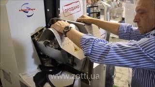 Sabal 4700 Машина для формовки союзки (работа на выставке)