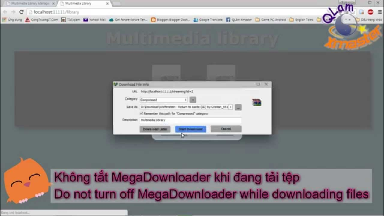 How to Download files Mega With IDM max speed