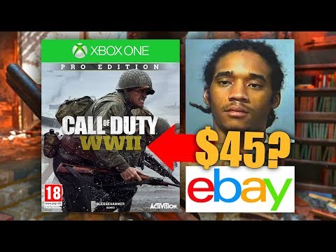 MAN CHARGED WITH *FELONY* FOR SELLING COD WWII EARLY! (Also, the WWII Beta Returned..)