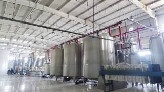 Glucose manufacturing plant installation complete/glucose syrup making machine manufacturing process