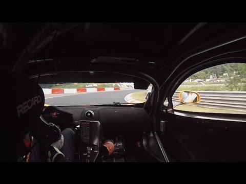 Doerr Motorsport 12C GT3 sets lap record at the Nurburgring 24 Hours