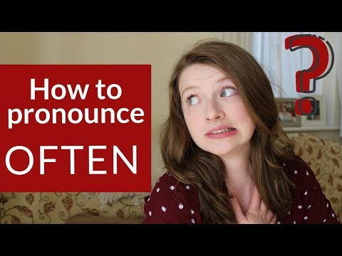 How to pronounce Often | Is it with or without the /t/?