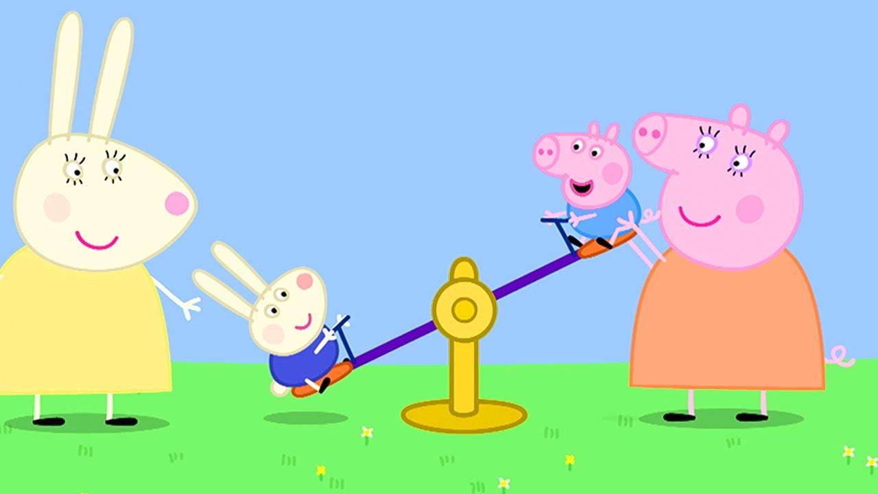 Peppa Pig en Español Episodios completos | Patio de recreo | Pepa la cerdita