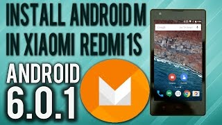Install Android 6.0.1 On Xiaomi Redmi 1s