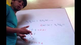 Química 2 - 3.4 Balanceo por tanteo Ejemplo 3