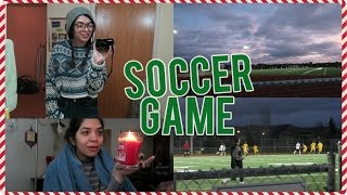 Download Video Brother's Soccer Game, Brow Appt, & Being Lazy!| VLOGMAS DAY 22 MP3 3GP MP4