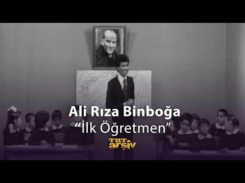 Ali Rıza Binboğa-İlk Öğretmen