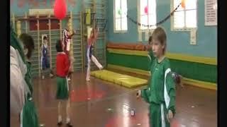 Урок физической культуры по баскетболу в 5 классе. Учитель Звягинцев Владимир.