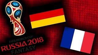 2018 RUSSIA FANTASY VB | FRANCIAORSZÁG - NÉMETORSZÁG