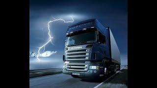 КАТАЕМСЯ НА DAF Euro Truck Simulator 2.   #8 (руль logitech g29)