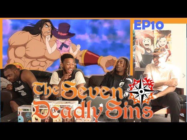 The Seven Deadly Sins Episode 10 REACTION/REVIEW