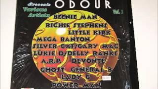 Odour Riddim  Mix 1997  (Shocking Vibes production)   mix by Djeasy