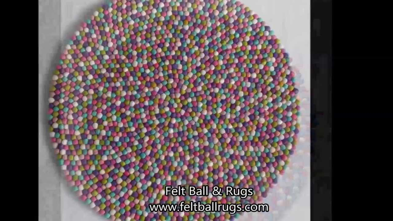 10 Perfect Felt Ball Rug Mat Designs Youtube