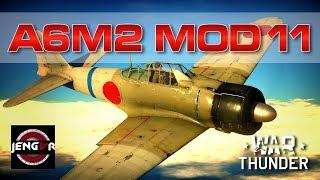 War Thunder Realistic: A6M2 mod 11 [Turn & Burn Baby!]