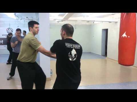 Wing Chun Drill for better reactionSiFu Jelovac & Si Hing Zilic
