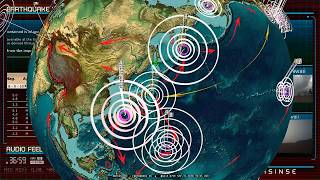 9/15/2018 -- Earthquakes strike Coast of Central Japan / Tokyo -- EXPECTED MOVEMENT taking place now