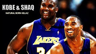 KOBE & SHAQ NATURAL BORN KILLAZ