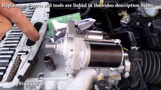 07 Honda Accord Starter Motor Replacement Video - JerryRigEverything