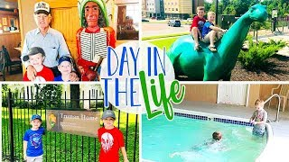 Day In The Life Vlog of a Stay at Home Mom | Road Trip