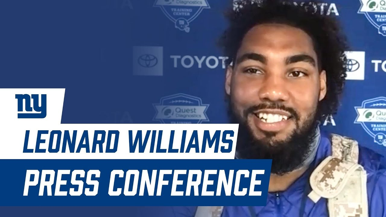 "Leonard Williams: ""I feel like I have a lot in the tank"" | New York Giants"
