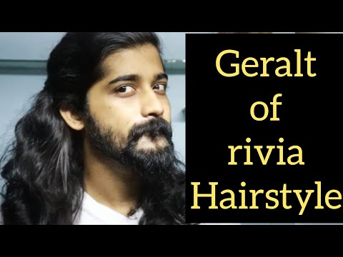 Geralt Of Rivia Hairstyle Longhair Hair Hairdo Youtube