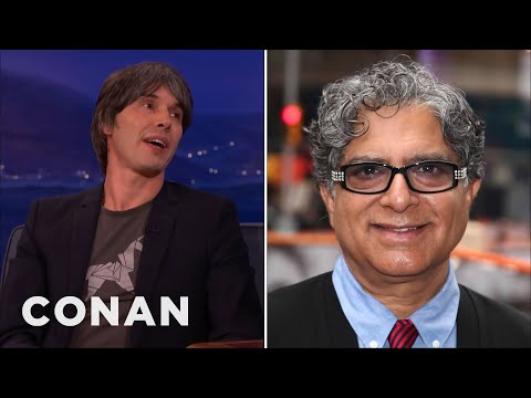 Professor Brian Cox Enraged Deepak Chopra  - CONAN on TBS