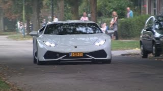 Exotic Cars Accelerating! Huracan 360 CS F-Type R Coupé R8 GT Spyder XJ220 918 Spyder