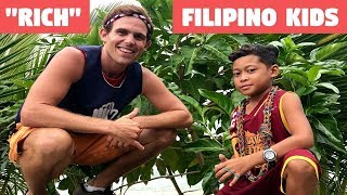 FILIPINO KIDS LIVING THE RICH LIFE (BecomingFilipino Games)