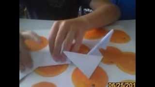 Оригами: сюрикен (Метательная звезда ниндзи)