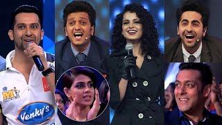 Kangana Ranaut Ultimate Reply to Riteish Deshmukh and Ayushman's Funny Counters | Bollywood Actors