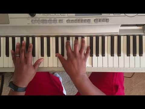 KELLY PRICE - FRIEND OF MIND ft RONALD ISLEY & R. KELLY ( PIANO TUTORIAL) Bb Minor