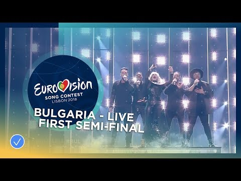 EQUINOX - Bones - Bulgaria - LIVE - First Semi-Final - Eurovision 2018