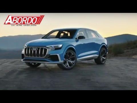 Audi quiere ser el primero en traer una utilitaria de lujo hibrida enchufable con la Q8 e-tron Conce