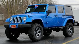 LIFTED 2016 Jeep Wrangler Unlimited Sahara For Sale   29274AT