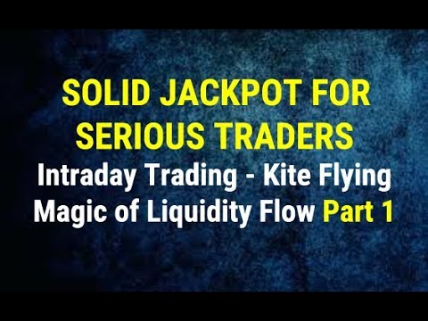 Solid Jackpot for Serious Traders - Intraday Trading  - Magic of Liquidity Flow   By Paisa To Banega