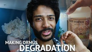 Making Ormus at Home Pt.3 | Material Degradation
