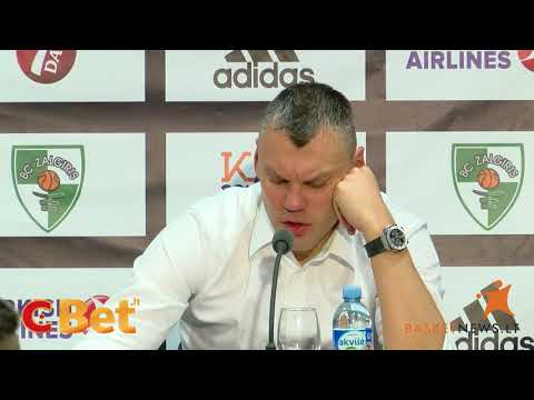 """Jasikevičius: """"Vyrai kovojo, tiesiog trūko sprendimų"""""""