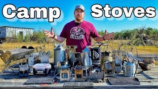 21 Camping Stoves Put to the Test