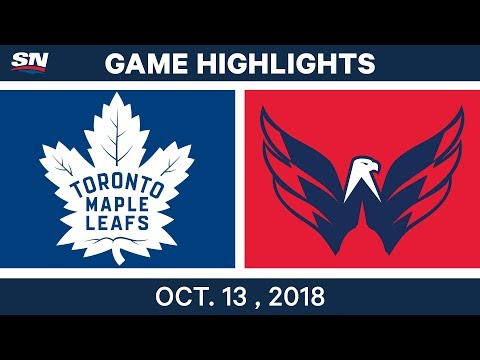 NHL Highlights | Maple Leafs vs. Capitals - Oct. 13, 2018