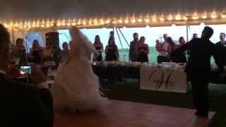 Blake and Brian Nutter Wedding Dance