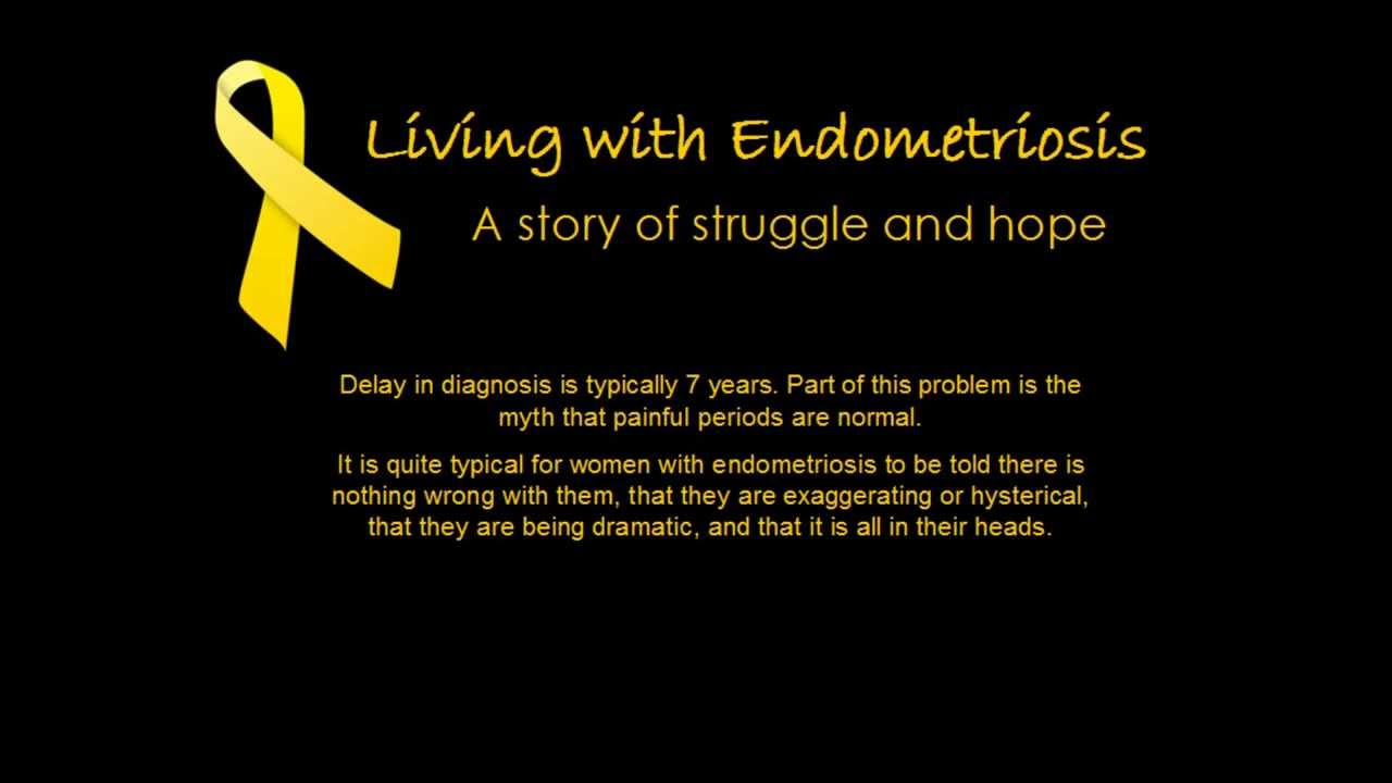 Living With Endometriosis: A Story Of Struggle And Hope - 1280x720 ...
