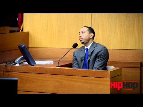 Breaking: Rapper @Ludacris Takes the Witness Stand, Grilled On His Rap Lyrics