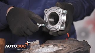 How to replace Deflection / Guide Pulley, timing belt on AUDI CABRIOLET - video tutorial