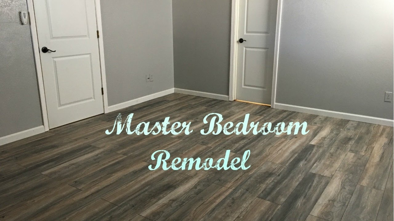 Master Bedroom Remodel!! - YouTube