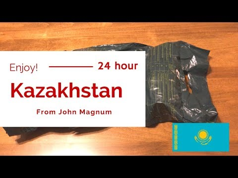 Ewww! What is that?!!! | PART #1 {Kazakhstan 24 Hour Ration}