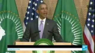 """Barack Obama devant l'Union africaine :  """"Je me tiens devant vous comme le fils d'un Africain"""""""